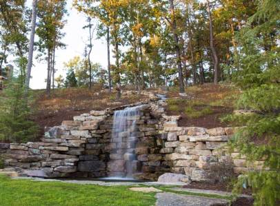 Dramatic Entrance Water Feature