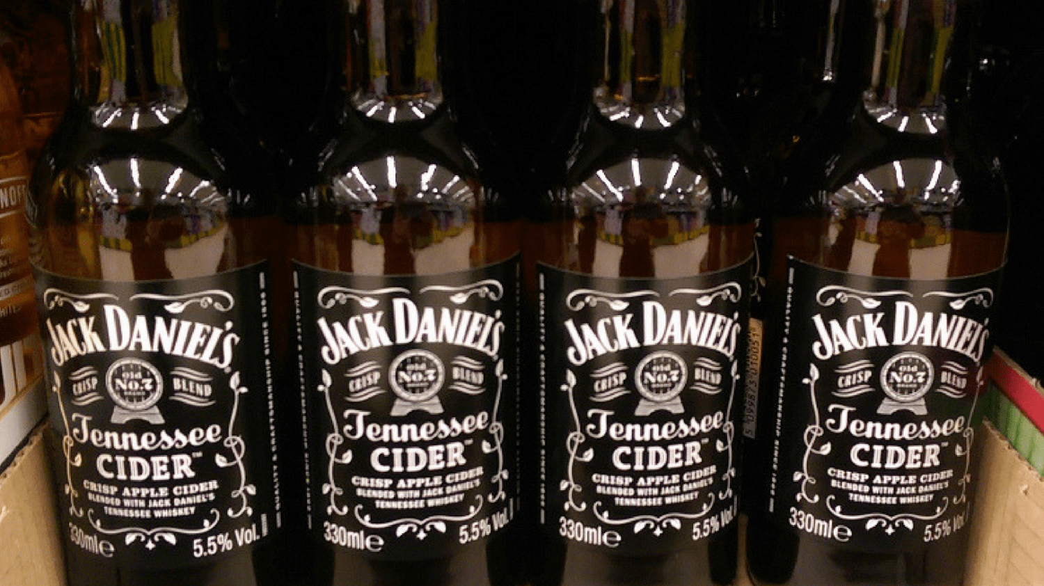 Featured Image - Jack Daniel's Cider