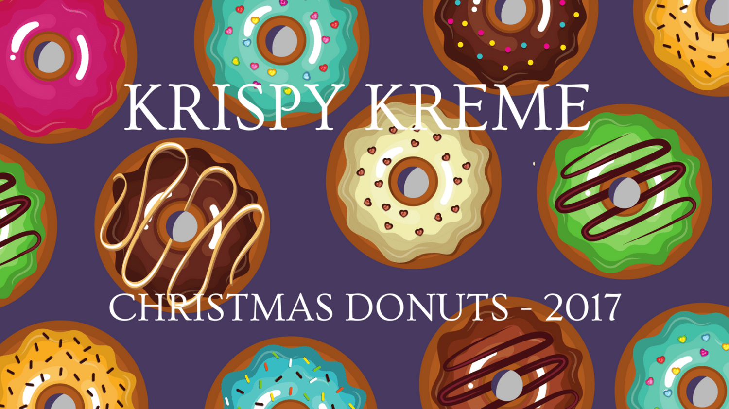 Featured Image - Krispy Kreme Donuts Christmas 2017