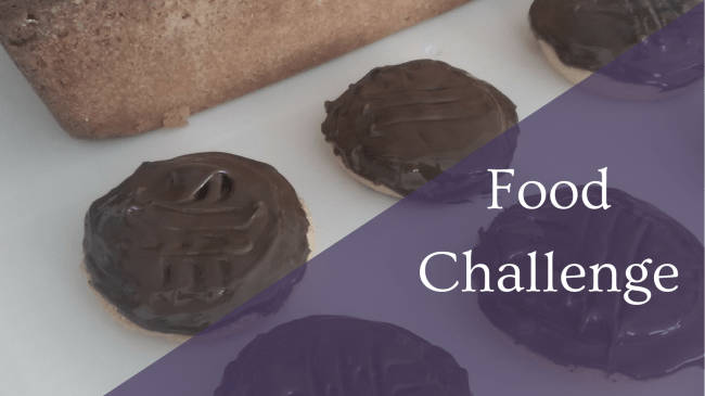 Featured Image - Food Challenge - Jaffa Cakes