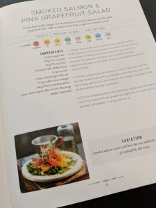 The Superfood Bible - Grapefruit salad page