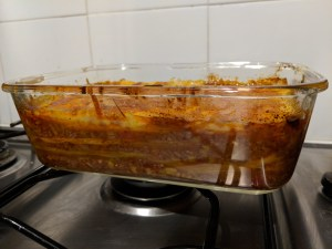 Skinny Beef lasagne layers from Hairy Bikers