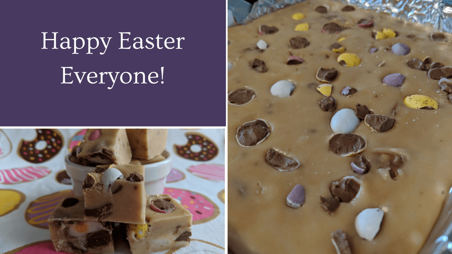 Easter Fudge - Featured Image
