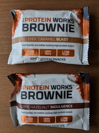 Protein Works Brownies