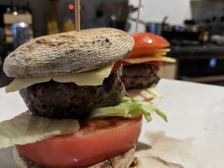 Mushroom Burger Bun