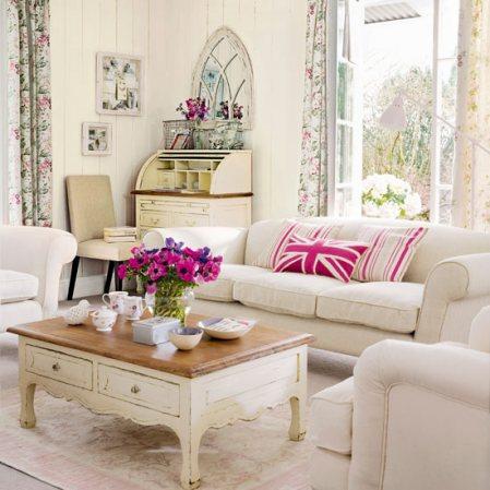 vintage living room  The Good Girls Guide