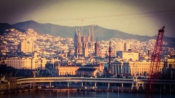 Barcelona, Spain | Sagrada Familia by Gaudi under construction