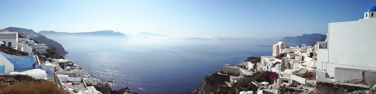 Santorini- Oia views to the south