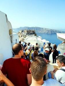 Touristy Oia | Santorini