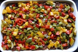 TheGoodGreeff mixed vegetable moussaka peppers