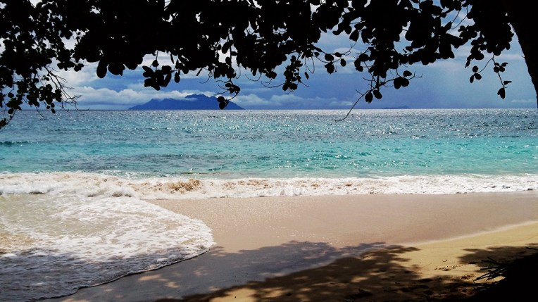 The secret Beach at Lllot chalets | Mahe