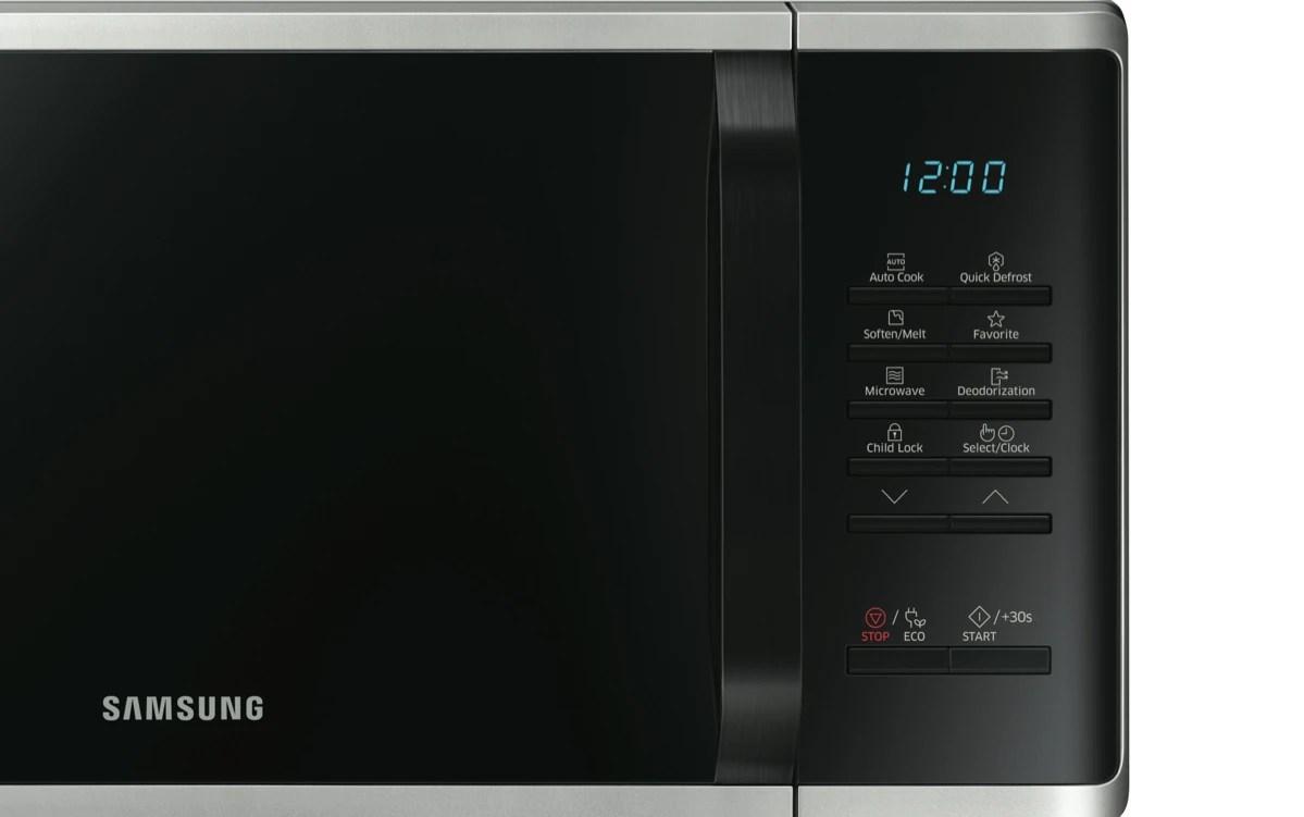 samsung23l 800w silver microwave