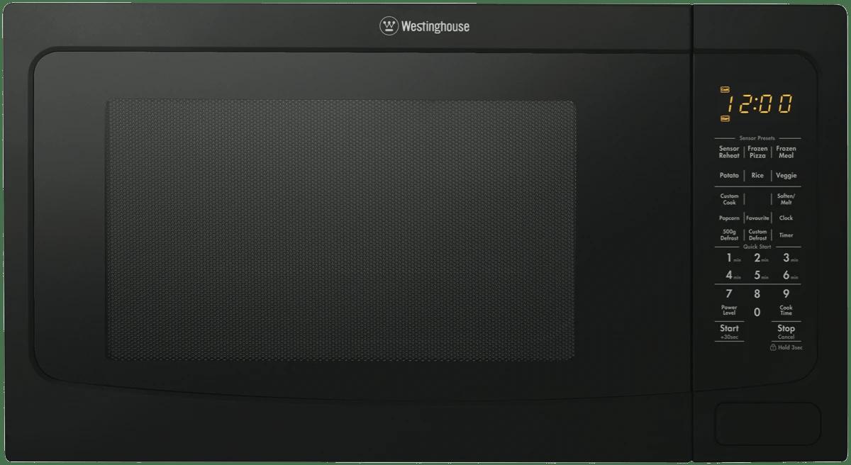 westinghouse40l 1100w black microwave