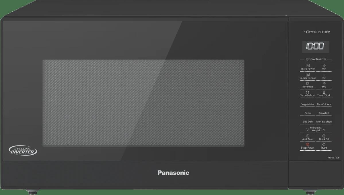 panasonic44l inverter sensor microwave black