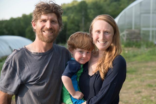 Good Heart farm family