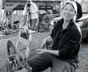 Susan Willsrud, co-founder of Calypso Farm and Ecology Center