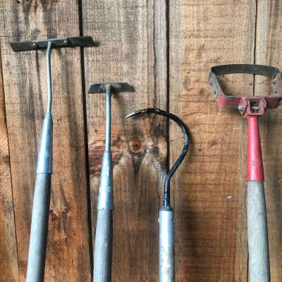 Collinear, Cobra & Stirrup Hoes: the best tools for organic market farmers and gardeners