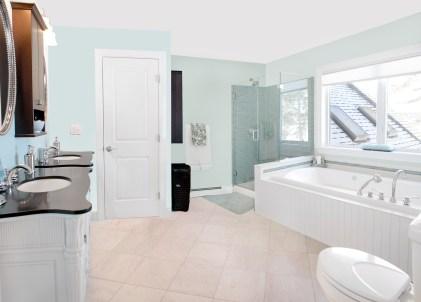 photo of spa like master bath renovation