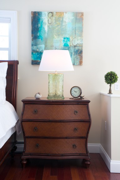 photo ofmaster bedroom retreat accents and accessories
