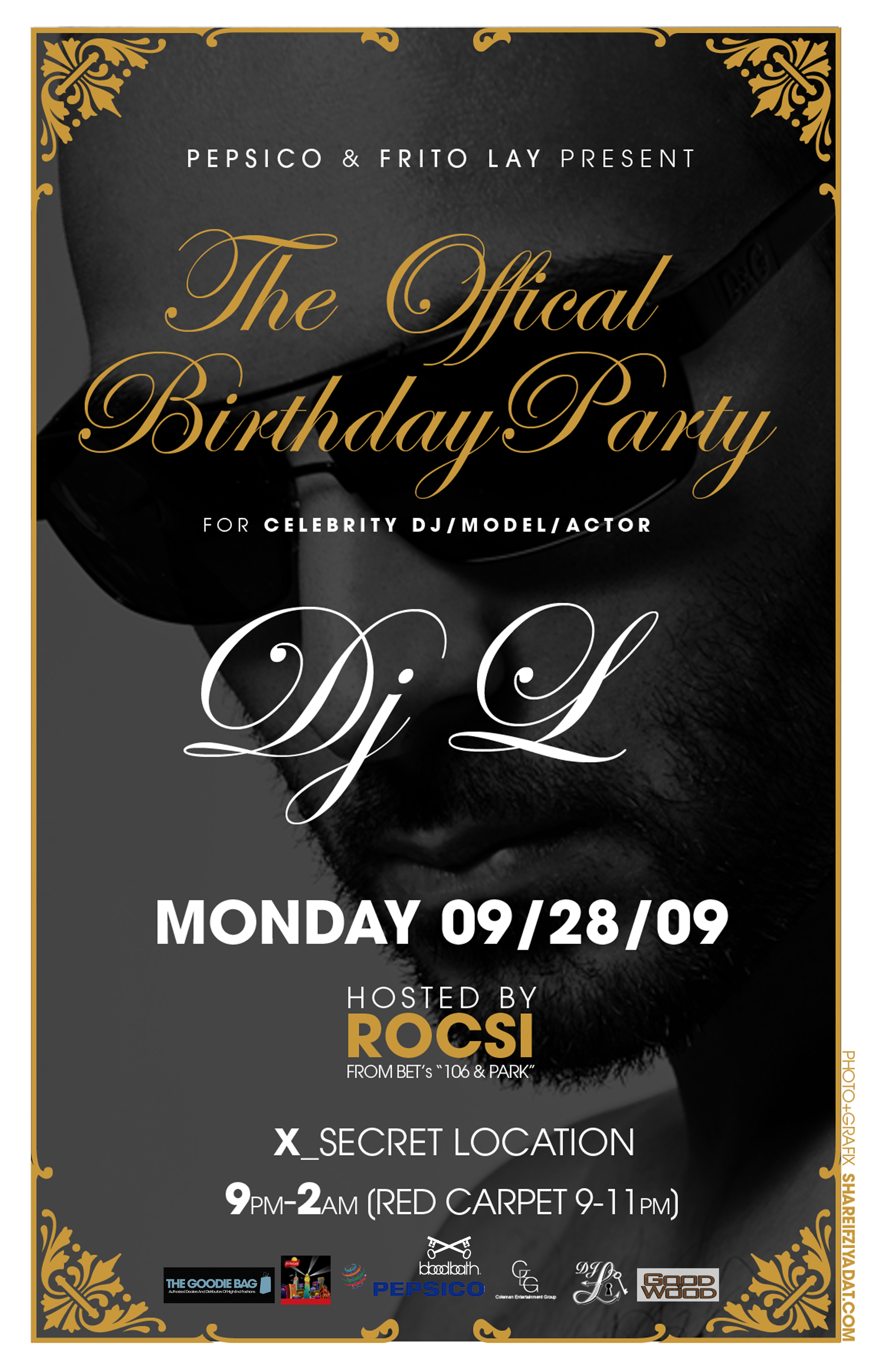 The Official Birthday Party Of DJ L | The Goodie Bag Blog
