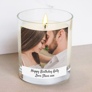 photo candle with text the goodie tree