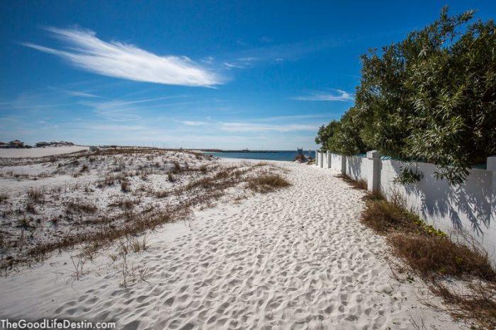 O'Steen Public Beach Destin Florida