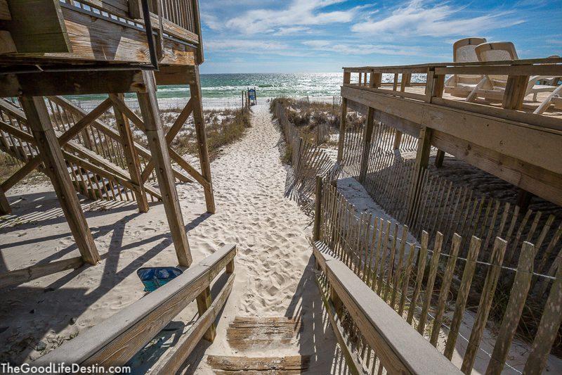 Crystal Beach Public Access Destin Fl