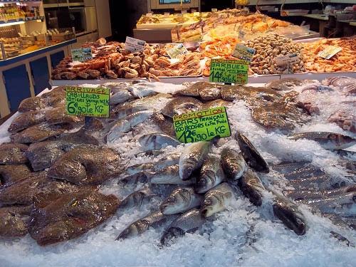 fish market, Le Touquet
