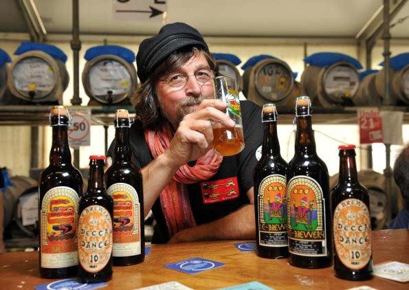 Steve Skews, owner of Le Brewery
