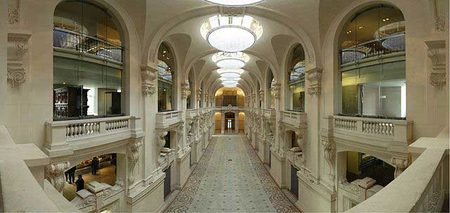 View of galleries in the Musee des Arts Decoratifs, Paris