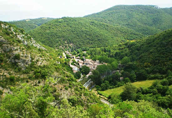 hiking in france
