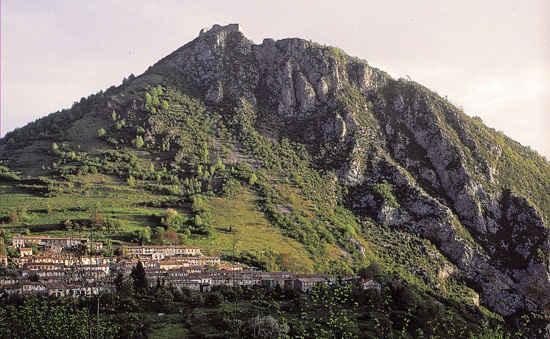 montsegur castle france