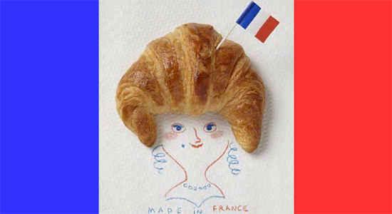 croissant head