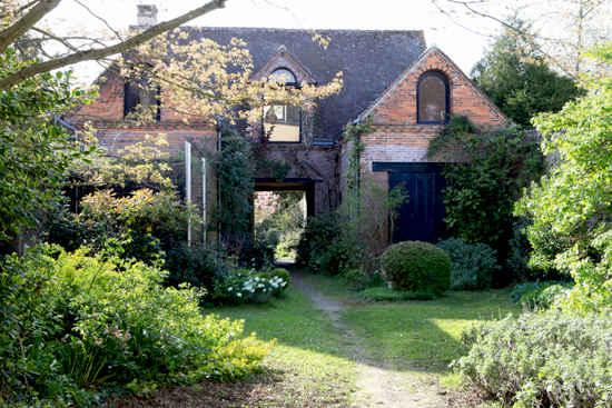 George Leveque's own garden