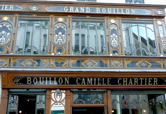 paris bouillon racine