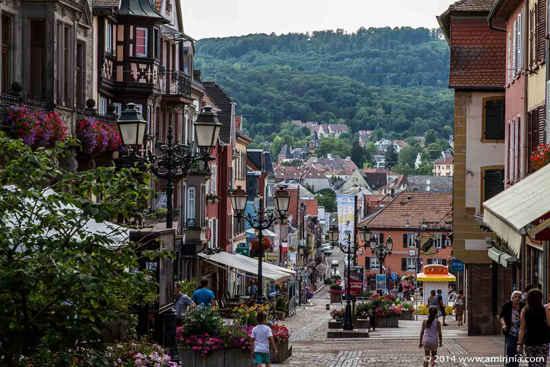 beautiful Alsace village