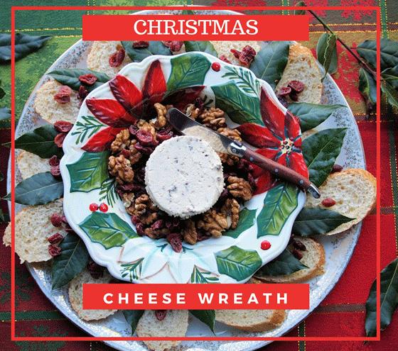 cheese-wreath