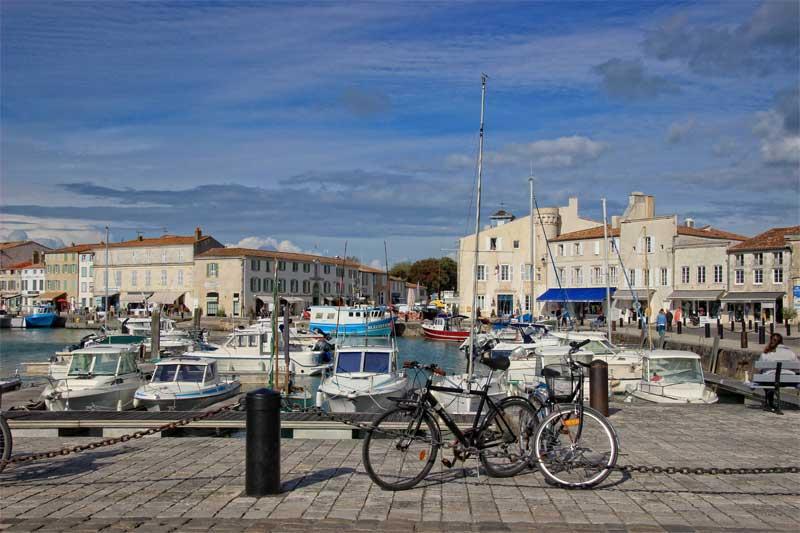 Boats in a port, Ile de Re France