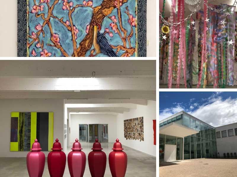 Modern art on display at Le Consortium Art Venue, Dijon