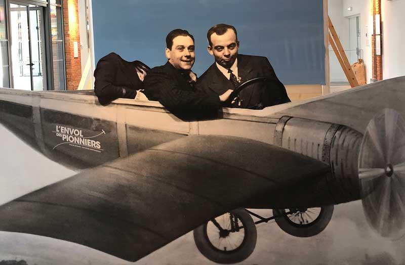Exhibit at the Envol des Pionniers, air postal museum, Toulouse