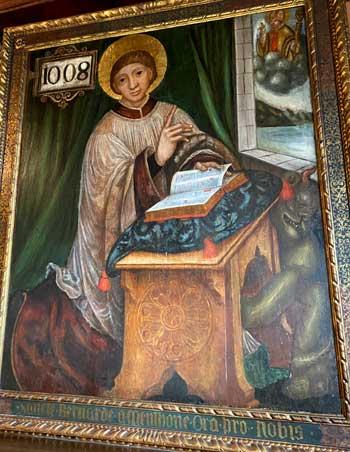 Portrait of Saint Bernard de Menthon