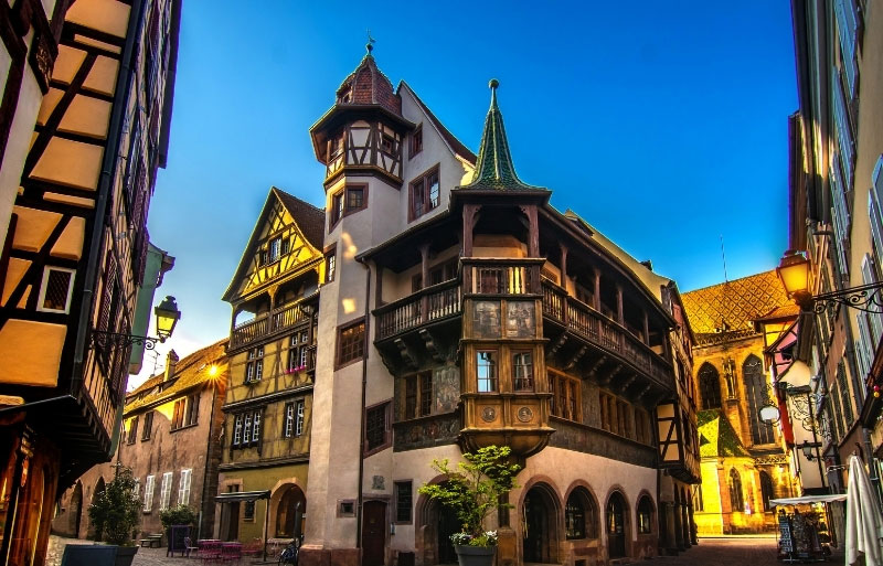 Maison Pfister in Colmar a blend of gothic and renaisssance architecture