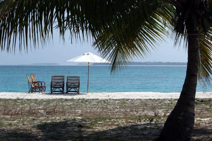 View from Bangaram cottage - How to plan your Lakshadweep holiday