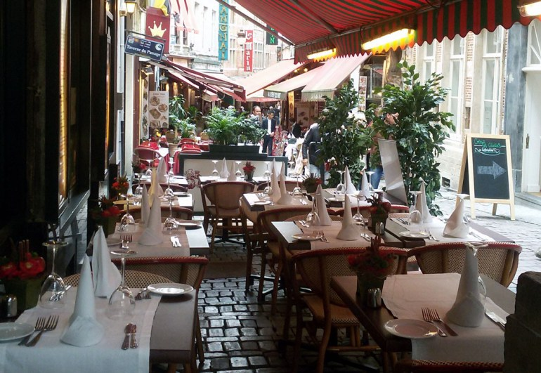 Rue des Bouchers - A road trip through Germany, and other ways to pass the time (Part 2): Brussels and Nieuwpoort
