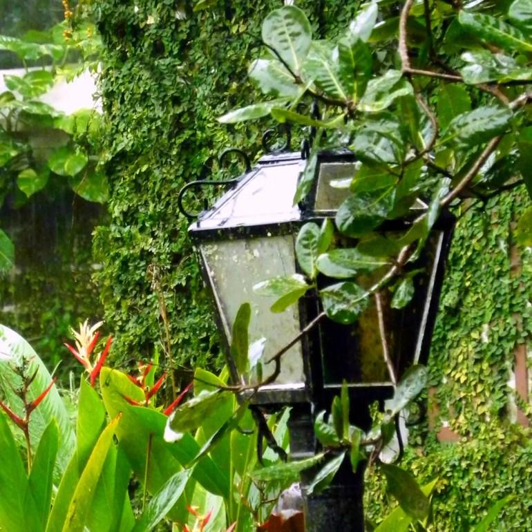 Lamp post at Cancio's House - An off-the-beaten-path Goan holiday