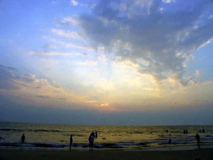 Sunset on Betalbatim - An off-the-beaten-path Goan holiday