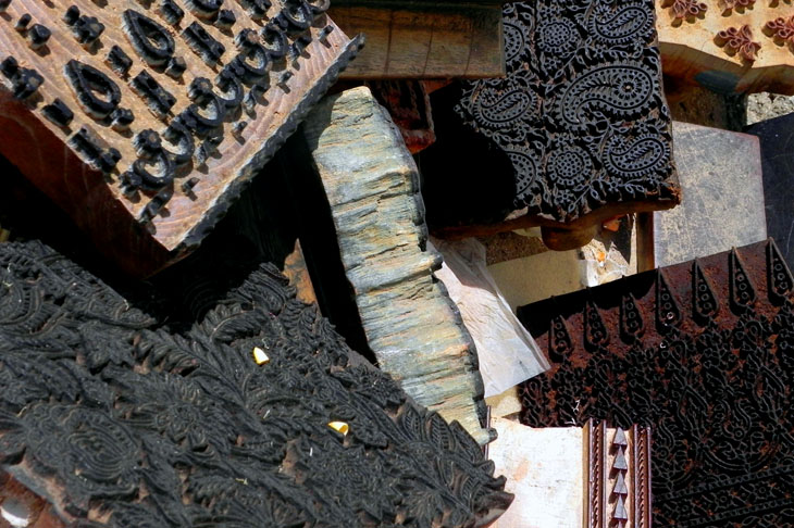 Gujarat_Ajrakhpur_PrintingBlocks - The colours of Kutch