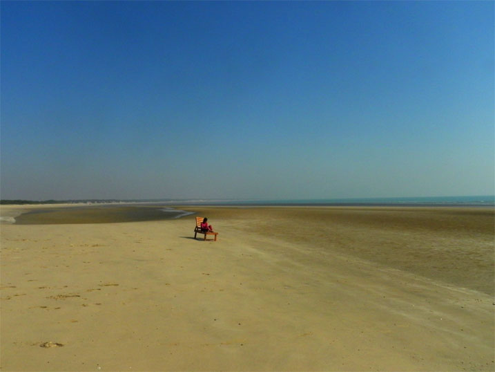 Gujarat_Mandvi_Beach - The colours of Kutch