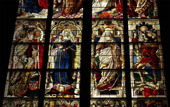 Stained glass window - A road trip through Germany, and other ways to pass the time (Part 1): Wuppertal and Cologne