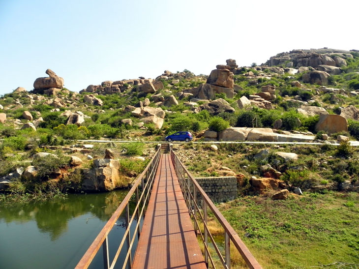 Hampi_RiverCanal2 - Magical sights of Hampi